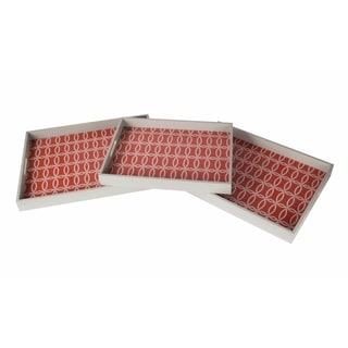 Wooden Tray (Set of 3)
