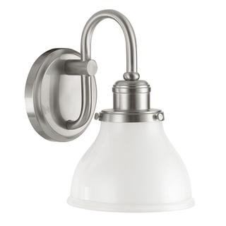 Capital Lighting Baxter Collection 1-light Bushed Nickel Wall Sconce