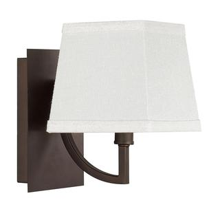 Parker 1-light Wall Sconce in Burnished Bronze Finish