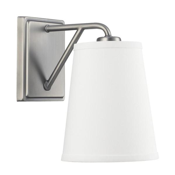 East Village 1-light Wall Sconce in Antique Nickel Finish
