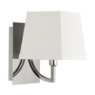 Parker 1-light Wall Sconce in Polished Nickel Finish