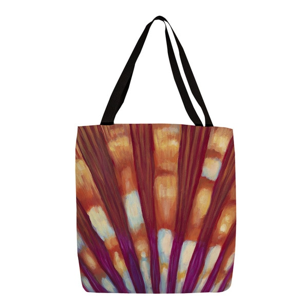Thumbprintz Multicolored Shell Print Tote