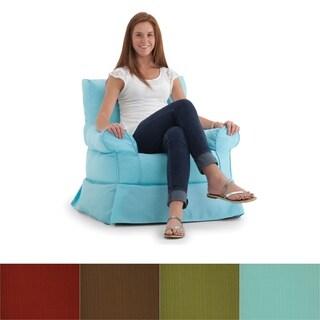 BeanSack Big Joe Babette Outdoor/ Indoor Bean Filled Arm Chair
