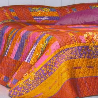 Bassetti Floral Cotton Bedspread
