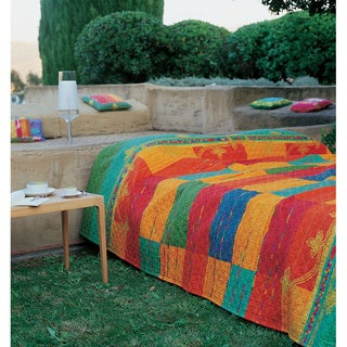 Bassetti Abstract Cotton Bedspread