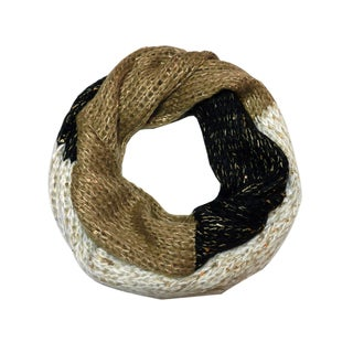 Justin & Taylor Multi-colored Knit Infinity Scarf