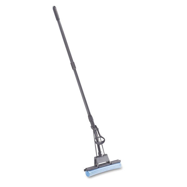 Rubbermaid Commercial PVA Blue Sponge Mop with Wringer Lever