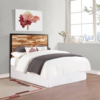 Dorel Living Wood Headboard with Rubber Black Finish