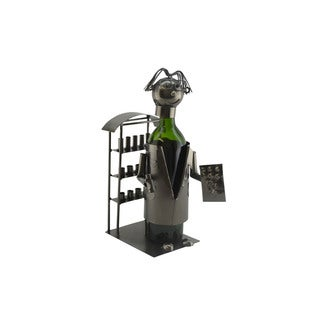 WineBodies Pharmacist Metal Wine Bottle Holder