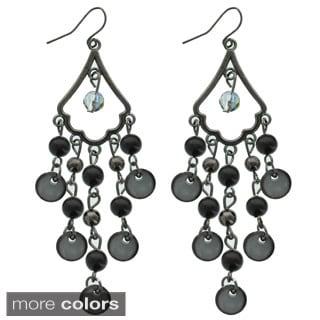 Kate Marie 'Cori' Acyrlic Fashion Dangle Earrings