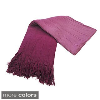 Bedford Cottage Valencia Ombre Knit Throw Blanket