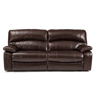 Signature Design by Ashley 'Damacio' Dark Brown 2-seat Reclining Power Sofa