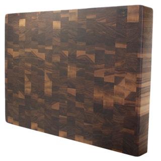 Kobi Blocks 3-inch Rectangular Walnut Butcher Block Cutting Board