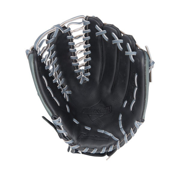 Franklin Sports Black/ Grey Right Handed Thrower 14-inch Baseball Mitt