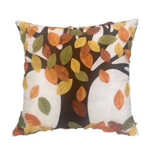 EDIE Falling Leaves 20-inch Pillow