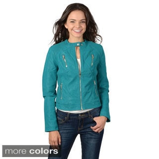 Hailey Jeans Co. Junior's Lined Zip-up Jacket
