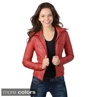 Hailey Jeans Co. Junior's Zip-up Pocket Detail Jacket