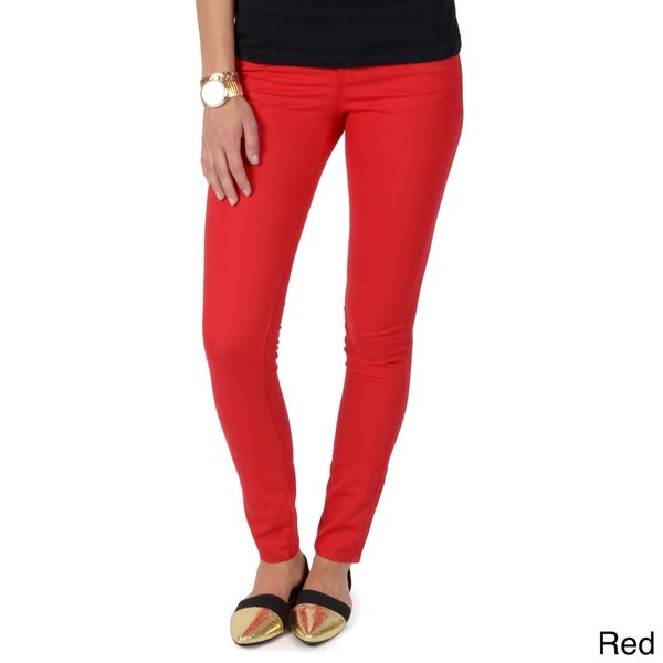 Hailey Jeans Co. Junior's Colored Skinny Jeans