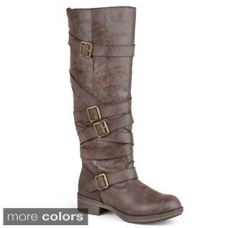 Madden Girl by Steve Madden Women's 'Lilith' Strap Detail Boots