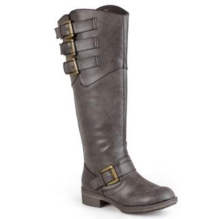 Madden Girl by Steve Madden Women's 'Lundunn' Tall Buckle Detail Boots