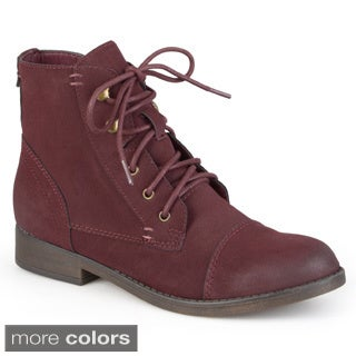 Madden Girl by Steve Madden Women's 'Ruebe' Lace-up Booties