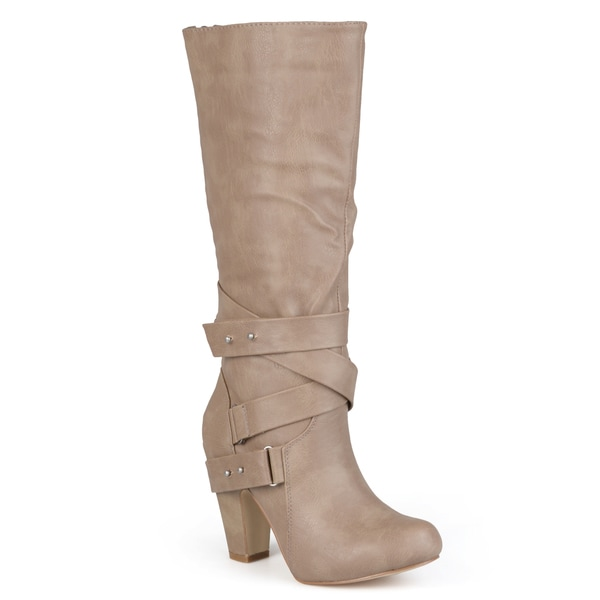 Madden Girl by Steve Madden Women's 'Sargentt' Strappy Heeled Boots