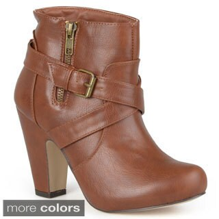 Madden Girl by Steve Madden Women's 'Sharpen' Strappy Heeled Boots