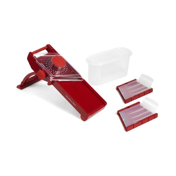 KitchenAid Mandoline Slicer Red
