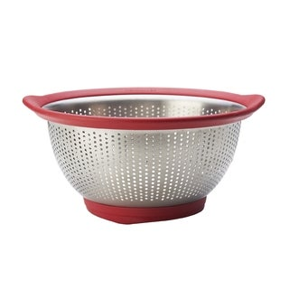 Kitchen Aid Red Stainless Steel 3-quart Colander