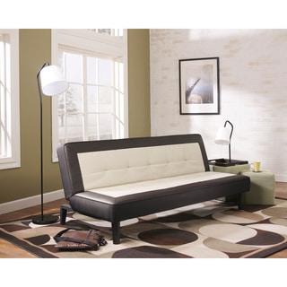 Signature Design by Ashley 'Ian' Tuxedo Flip Flop Sofa