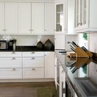 Shaker White Base Birch Wood Cabinet