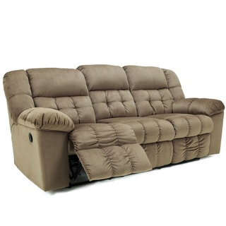 Signature Design by Ashley Lowell Toffee Reclining Sofa