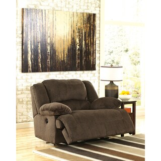 Signature Design by Ashley Toletta Chocolate Zero Wall Wide Seat Recliner