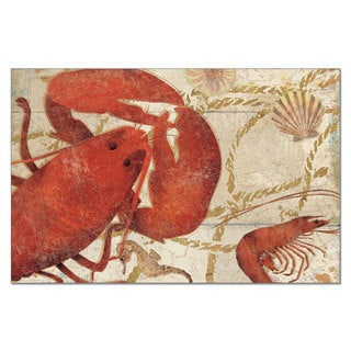 Lobster and Crab Paper Placemats (Pack of 12)