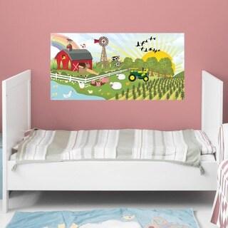 Peel and Stick Farm Mural