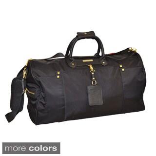 Adrienne Vittadini Weekender Nylon 22-inch Duffle Bag