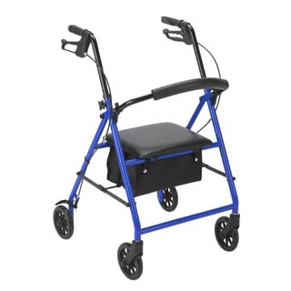 Drive Medical Rollator with 6-inch Wheels