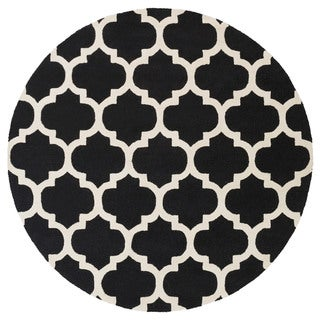 Artistic Weavers Hand-tufted Yuen Moroccan Trellis Wool Area Rug (3'6 Round)
