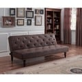 DHP Charleston Brown Vintage Futon