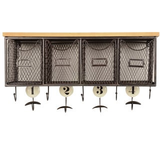 Oh! Home 4-basket Wall Organizer