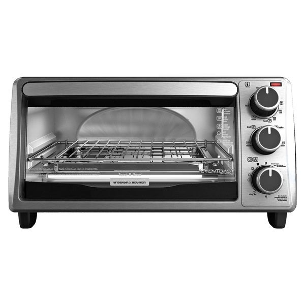 Black & Decker TO1303SB Stainless Steel 4-slice Bezel Toaster Oven