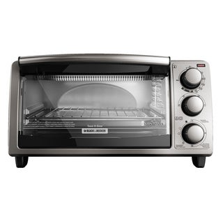 Black & Decker TO1373SSD Stainless Steel 4-slice Toaster Oven