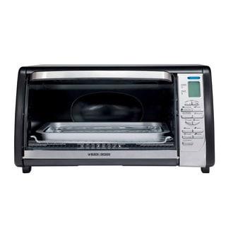 Black and Decker Black 6-slice Digital Convection Oven