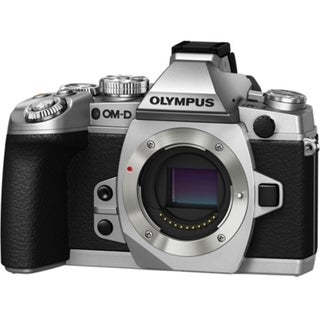 Olympus OM-D E-M1 16.3 Megapixel Mirrorless Camera (Body Only) - Silv