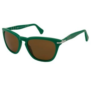 Persol Women's PO3024 Polarized/ Rectangular Sunglasses