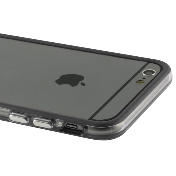 INSTEN Protective Clear Hard Bumper Edge Frame for Apple iPhone 6 4.7-inch