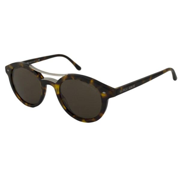 Giorgio Arman Men's AR8007 Round Sunglasses