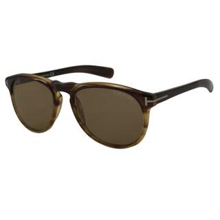 Tom Ford Men's TF0291 Flynn Rectangular Sunglasses