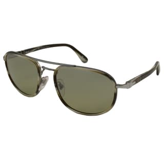 Persol Men's PO2409 Polarized/ Aviator Sunglasses