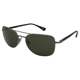 Persol Men's PO2420 Aviator Sunglasses